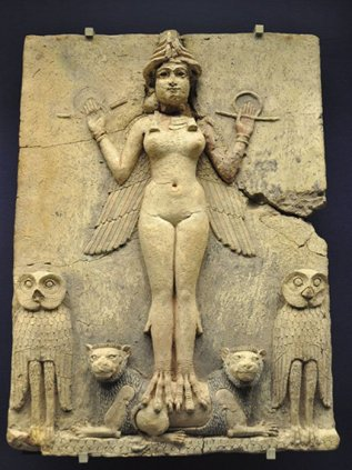 Lilith Stone Carving