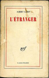 Albert Camus L'Etranger First Edition