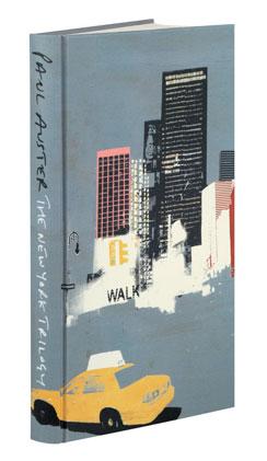 Paul Auster - The New York Trilogy - Folio Society edition