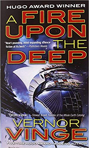 A Fire Upon teh Deep - Vernor Vinge
